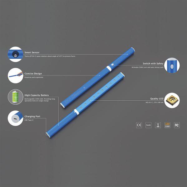 Portable UV-C Lamp